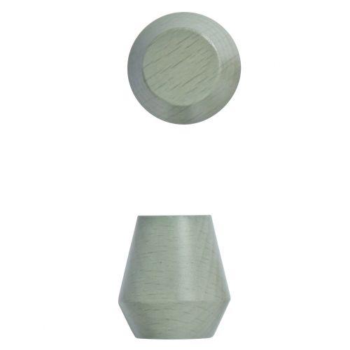 OYOY / Drevený háčik Saki Pale mint - 2 ks