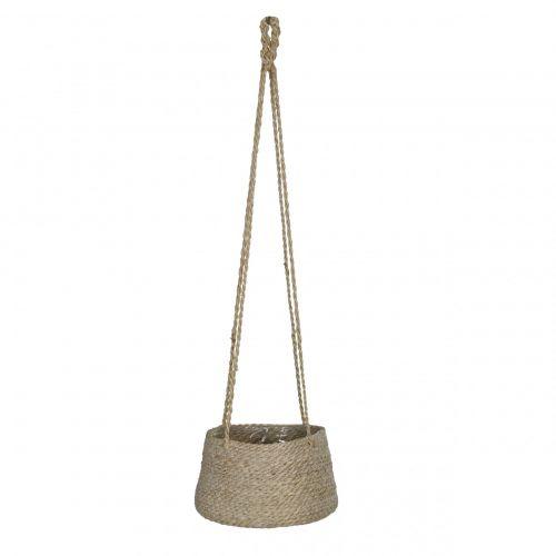 Garden Trading / Závesný jutový obal na kvetináč Wide Tapered Pot