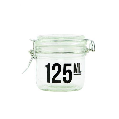 House Doctor / Skleněná dózička s víčkem 125 ml