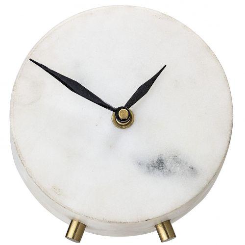 Bloomingville / Mramorové hodiny Marble & Gold