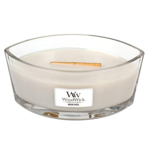 WoodWick / Vonná sviečka WoodWick - Hrejivá vlna 454g