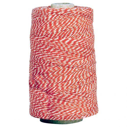 IB LAURSEN / Dekoratívny špagátik Red/white 10 m