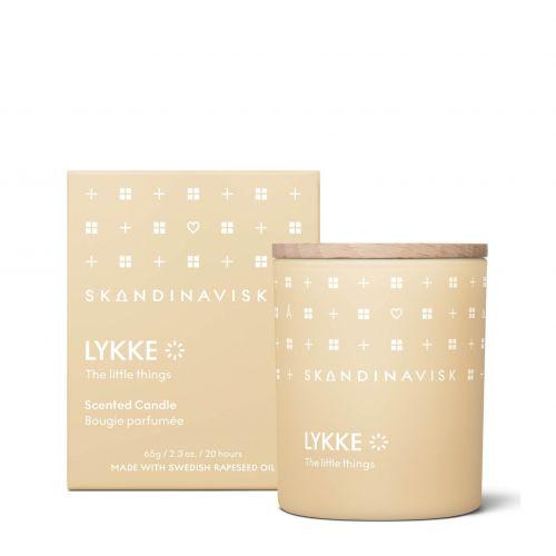 SKANDINAVISK / Vonná sviečka LYKKE (šťastie) 65 g