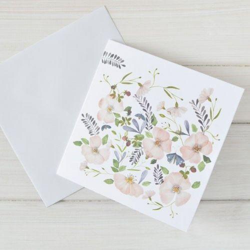 MANKAI Paper / Blahoželanie Šípkové ruže