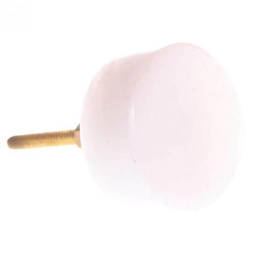 La finesse / Kamenná úchytka White Stone Round