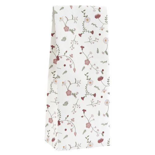 IB LAURSEN / Papierový sáčok Rose Wild Flower 9 x 22,5 cm