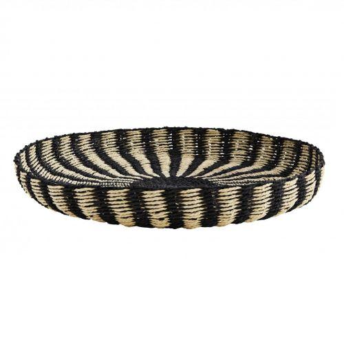 MADAM STOLTZ / Ručne pletená ošatka Paper Rope Tray