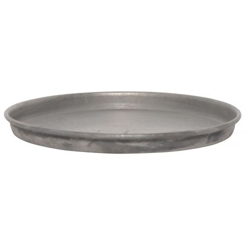 IB LAURSEN / Zinková okrúhla tácka Grey 16cm