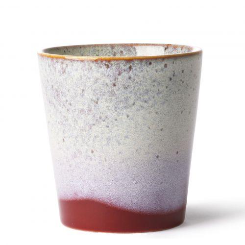 HK living / Keramický hrnček 70's Mug Frost 180 ml