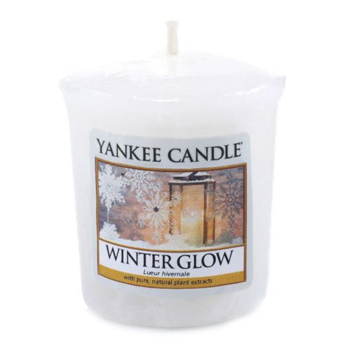 Yankee Candle / Votívna sviečka Yankee Candle - Winter Glow