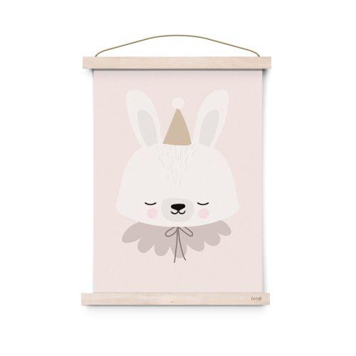 EEF lillemor / Plagát do detskej izbičky Circus Bunny A3