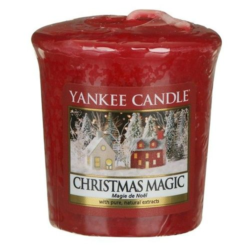 Yankee Candle / Votívna sviečka Yankee Candle - Christmas Magic