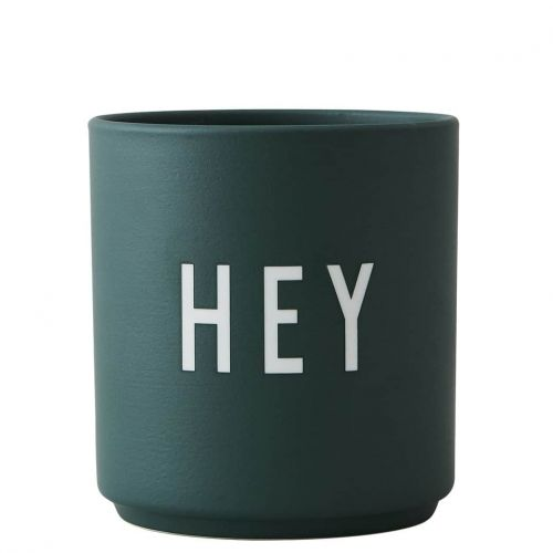 DESIGN LETTERS / Porcelánový hrnček Hey 300 ml