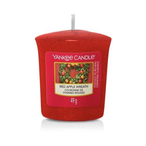 Yankee Candle / Votívna sviečka Yankee Candle - Red Apple Wreath