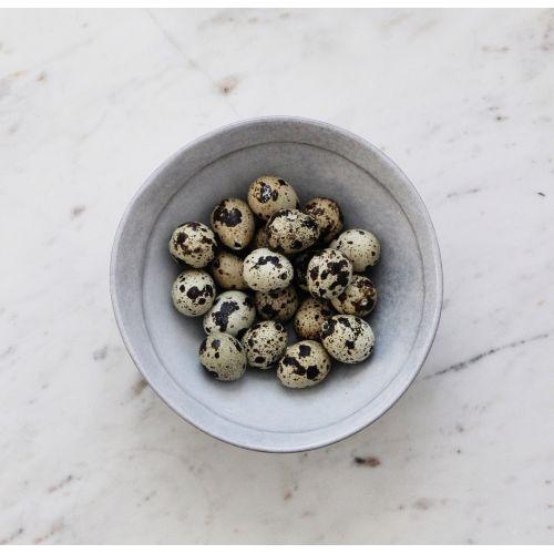 IB LAURSEN / Dekoratívne prepeličie vajíčka Natural - 20 ks