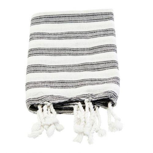 meraki / Bavlnený uterák Hammam White 90 x 45 cm