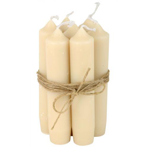 IB LAURSEN / Sviečka Cream - set 6 ks