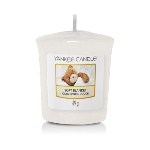 Yankee Candle / Votívna sviečka Yankee Candle - Soft Blanket