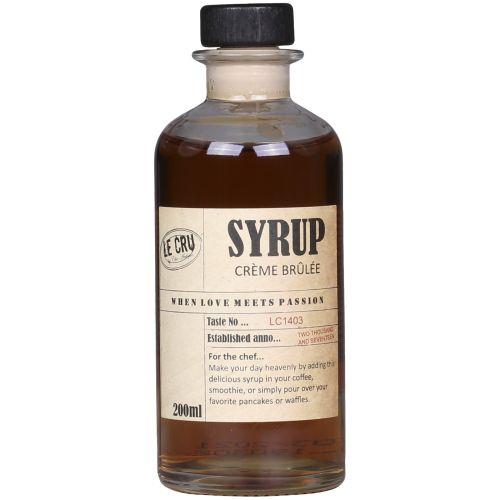 LE CRU Delicacies / Sirup Créme brulée 200ml