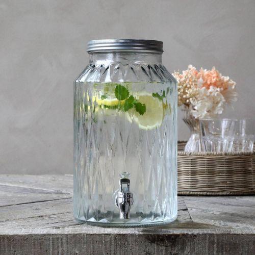Chic Antique / Nádoba na limonádu Clear 5,5 l