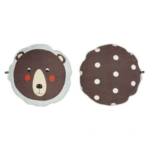 OYOY / Okrúhly vankúšik Bear