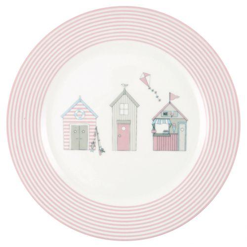 GREEN GATE / Detský porcelánový tanierik Ellison Pale Pink
