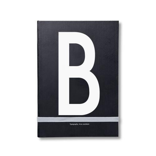 DESIGN LETTERS / Notes v pevných doskách B A5