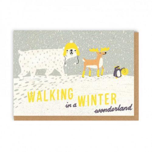 Ohh Deer / Vianočné prianie s obálkou Winter Wonderland A6