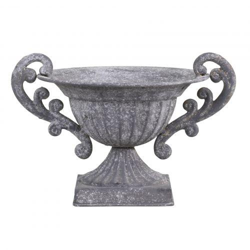 Chic Antique / Kovový dekoratívny pohár Antique Zinc