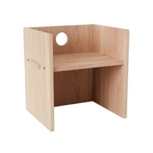 OYOY / Detská drevená stolička Arca Nature