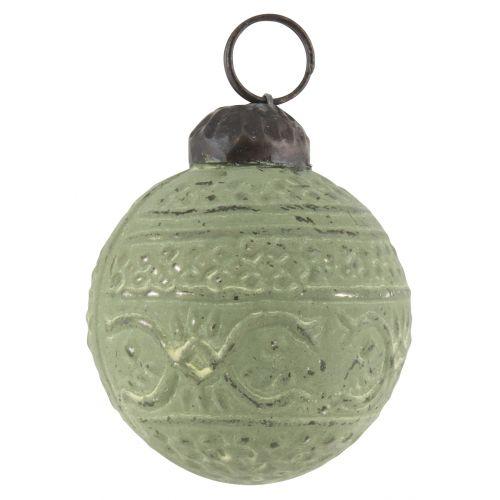 IB LAURSEN / Vianočná mini ozdoba Green pattern