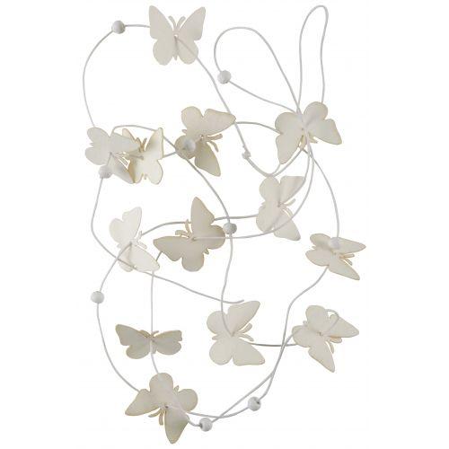 IB LAURSEN / Papierová girlanda White Butterflies