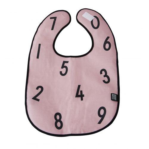 DESIGN LETTERS / Podbradník Numbers Pink