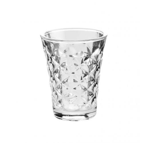Tine K Home / Svícen Facet glass Clear 10 cm
