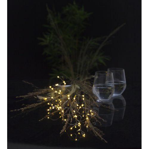 STAR TRADING / LED drôtik na solárne napájanie Dew Drops