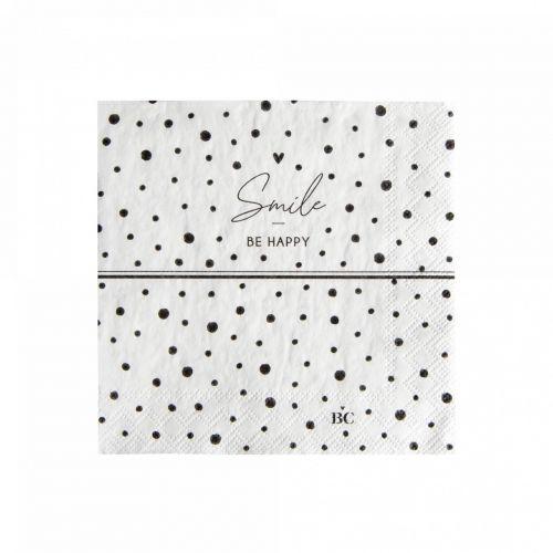 Bastion Collections / Papierové servítky Smile Dots Small - 20 ks
