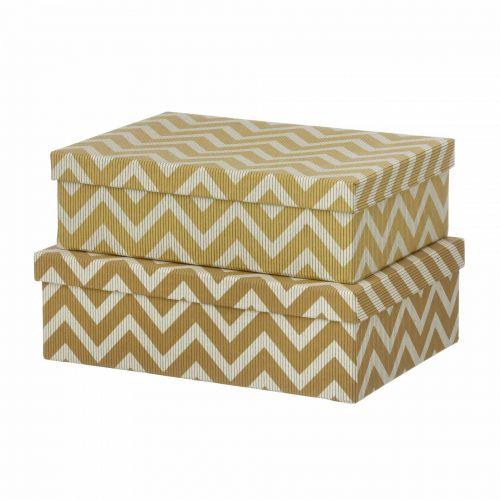 BUNGALOW / Papierová krabica Wiggy Camel