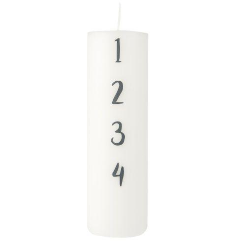 IB LAURSEN / Adventná sviečka Advent 20cm