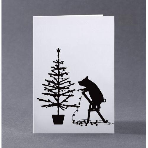 HAM / Vianočné prianie s prasiatkom Tree Trimming Pig