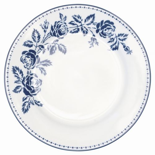 GREEN GATE / Dezertný tanier Fleur blue