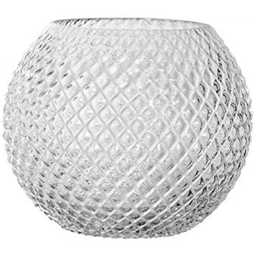 Bloomingville / Sklenená váza Clear Diamond