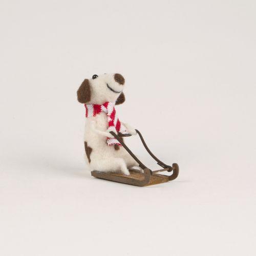 sass & belle / Vianočná ozdoba Sledging Doggie