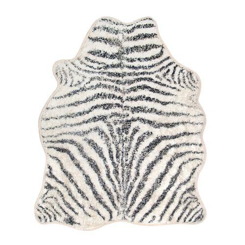 HK living / Bavlnený koberček Zebra