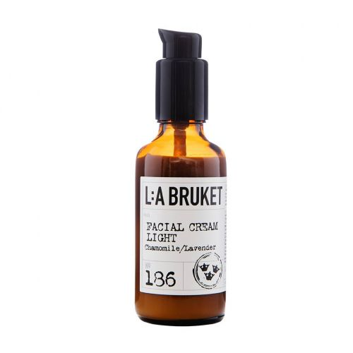 L:A BRUKET / Ľahký krém na tvár Harmanček a levanduľa 50ml