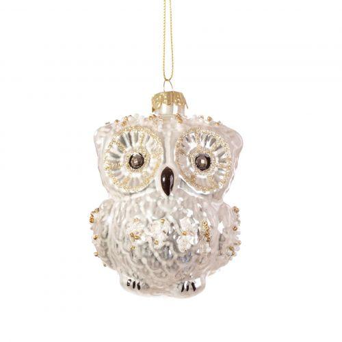sass & belle / Vianočná ozdoba Snowy Owl