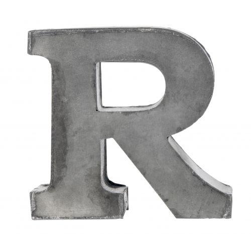 MADAM STOLTZ / Plechové písmeno R, 5,5 cm