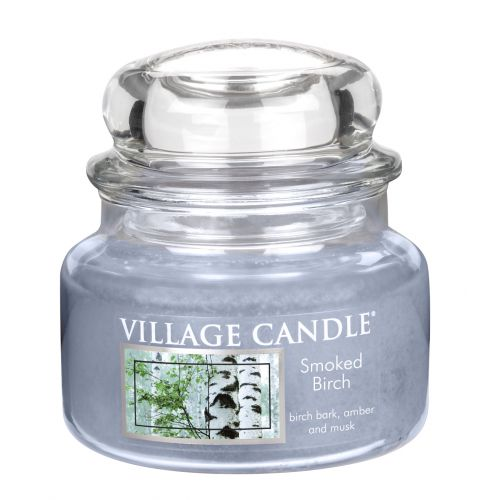 Village Candle / Svíčka ve skle Smoked Birch - malá