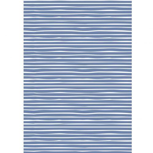 IB LAURSEN / Baliaci papier Blue Stripe – 10 m