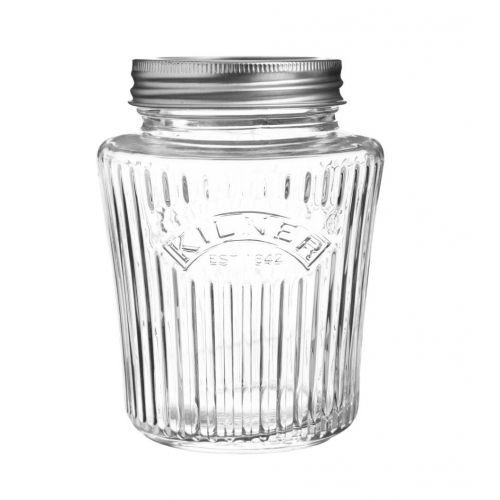 KILNER / Vrúbkovaný zavárací pohár 500 ml