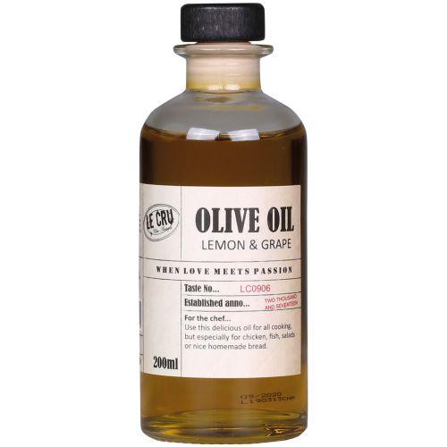 LE CRU Delicacies / Olivový olej Extra Virgin Lemon & Grape 200ml